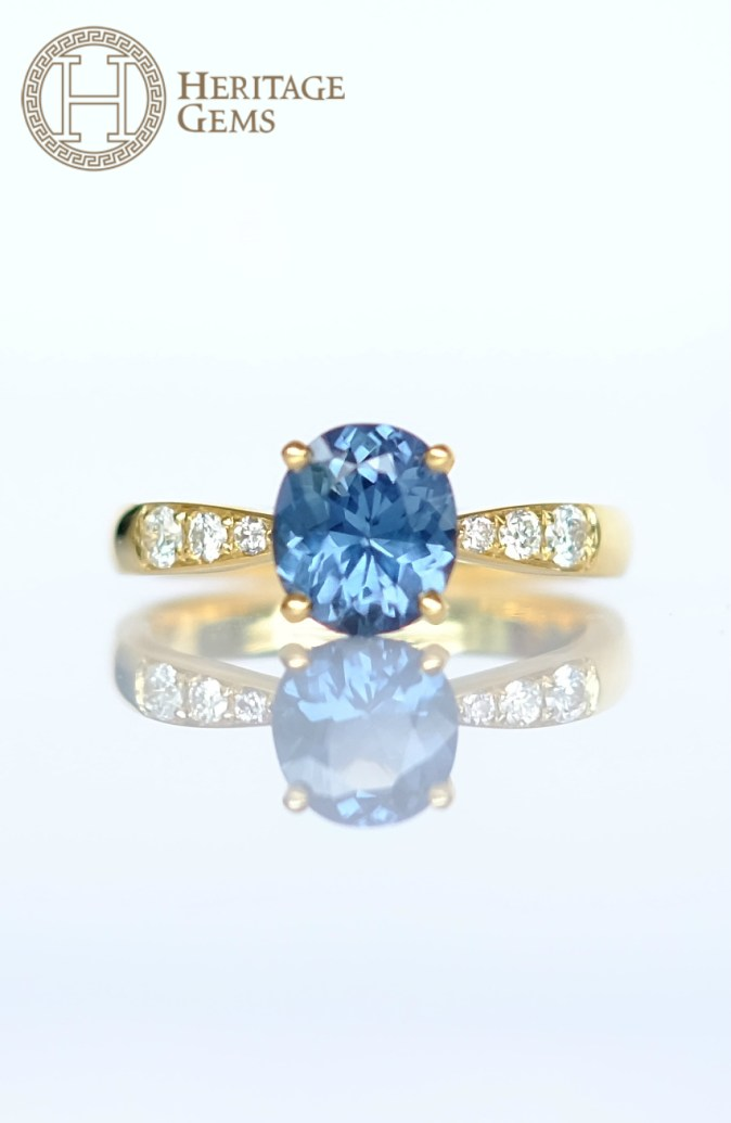 SkyBlueSpinelRing