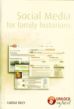 Social Media for Family Historians front cover