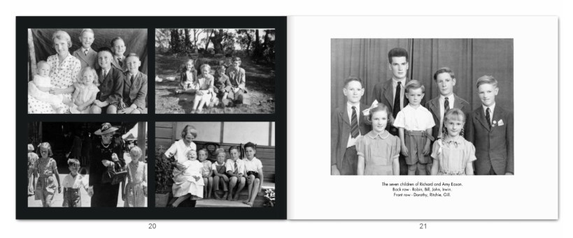 Eason Family Photo Book pp20-21