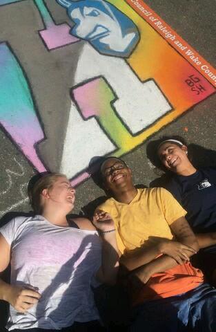 Pictured: Emma Farmer, Jalen Smith, & Janelle Mafucci