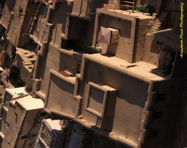 Adobe Houses in Leh