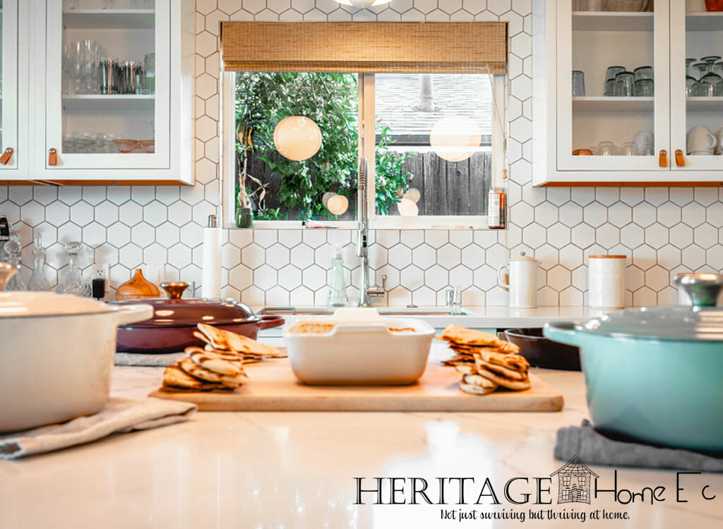 5 Home Economics Skills You Need to Learn- Heritage Home Ec Home Economics should still be a vital part of how you run your home. Here are my top 5 home economics skills you need to learn. | Home Economics | Home Ec | Homemaking |