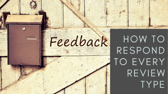 blog graphic responding to reviews