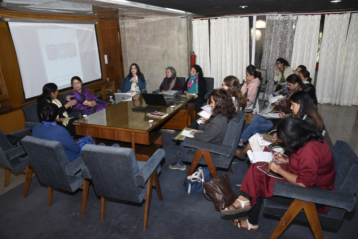 Heritage Preservation Atelier conducted a 3 days Workshop/congress in Chandigarh