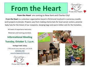 From the Heart @ Heritage Public Library | New Kensington | Pennsylvania | United States
