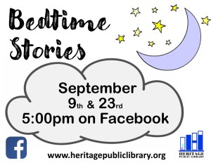 Bedtime Stories @ Heritage Public Library