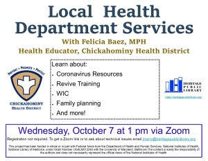 Local Health Services Program @ Online