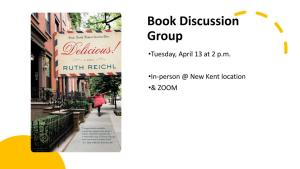 Hybrid Book Discussion Group - NK