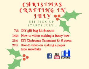 Christmas in July Craft - Gift Bag