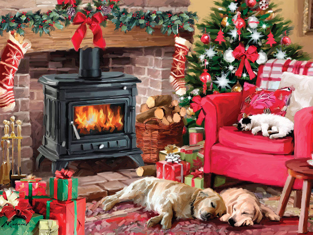 Cozy Christmas Puzzle Jigsaw Puzzles