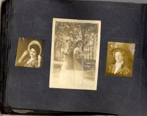 Unknown people in a photo album probably owned by Bess Dorothy Green, p.31.