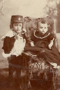Herman (left) and Mary Green, c. 1896.