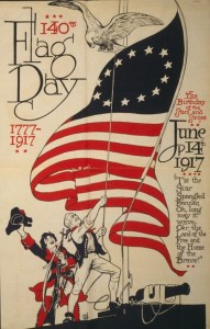 U.S. Flag Day Poster- 1917