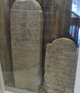 Henrich Widener and Catharina (Moll) Weidener- Tombstones