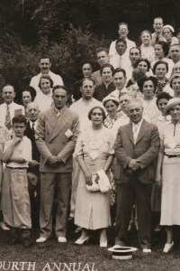 Fourth Annual Broida Family Reunion, July 11, 1937. Youngstown, Ohio. #2B