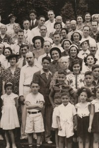 Fourth Annual Broida Family Reunion, July 11, 1937. Youngstown, Ohio. #4