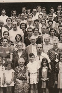 Fourth Annual Broida Family Reunion, July 11, 1937. Youngstown, Ohio. #5B