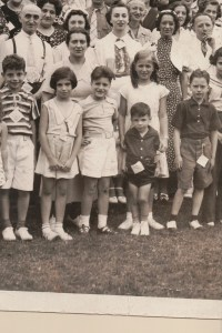 Fourth Annual Broida Family Reunion, July 11, 1937. Youngstown, Ohio. #8A