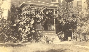 Samuel J. Lee family home at 1038 Grandview, St. Louis, Missouri, October 1922.