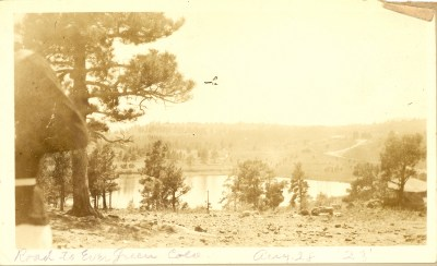 28 Aug 1923- Denver Lookout Mountain. Aiken family?
