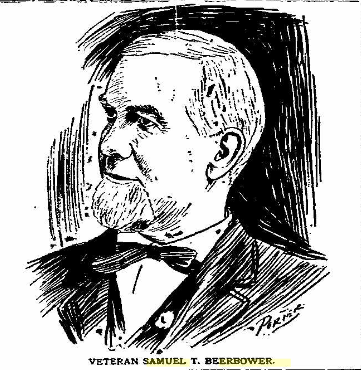 "Sketch of Samuel T. Beerbower in ""The Marion Daily Star"" [Marion OH], 26 Nov 1895"