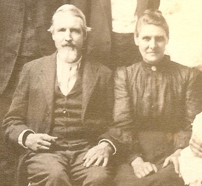 1904 Underwood Family Portrait- Joab and Elizabeth Underwood-cropped.