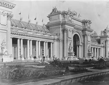 Palace of Fine Arts, 1904 Louisiana Purchase Exposition. Via Wikimedia, public domain.