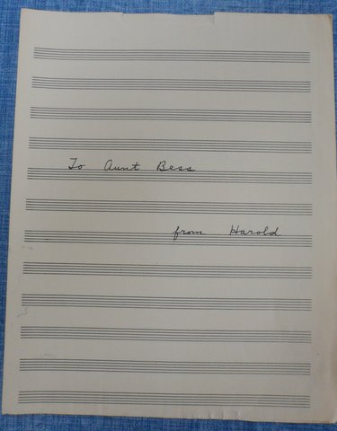 Hymn composed by Harold Green, based on a poem by John Greenleaf Whittier. It was dedicated to Bess Green Broida.- Cover Sheet