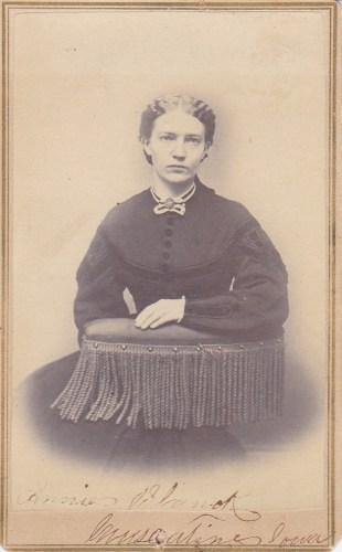 Annie S., Muscatine, Iowa