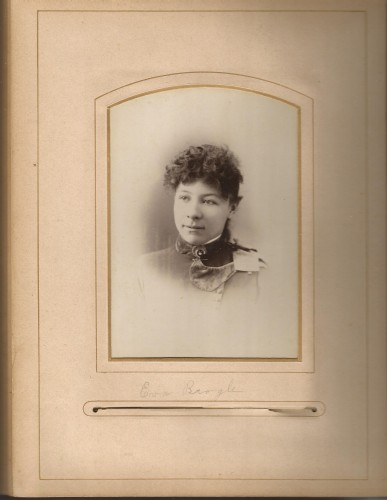 Eva Brogle from the Lloyd Roberts Family Photo Collection.