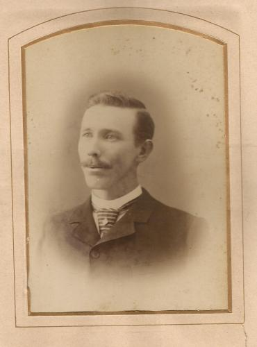 Issac H Roberts, c1893, from the William Roberts Family Photo Album.