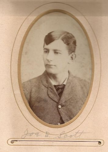 Joe B Scott, from the William Roberts Family Photo Collection.