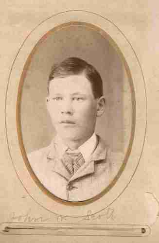 John W Scott, from the William Roberts Family Photo Collection.