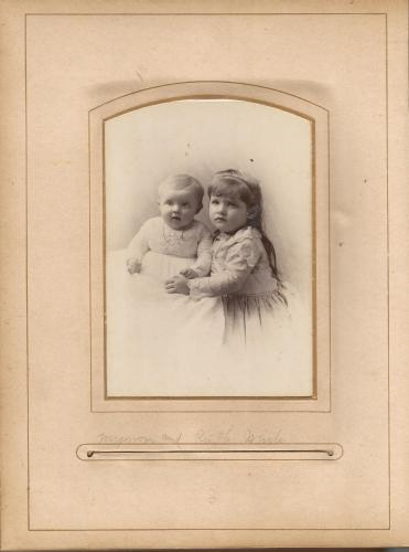 Mignon & Ruth White, from the William Roberts Family Photo Collection.
