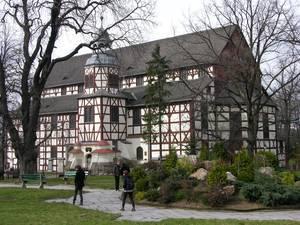 Foto: Friedenskirche in Jauer (U. Schaaf)