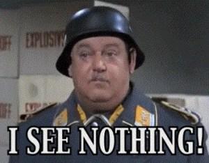 Herkimer Fire Chief John Spanfelner Sees Nothing