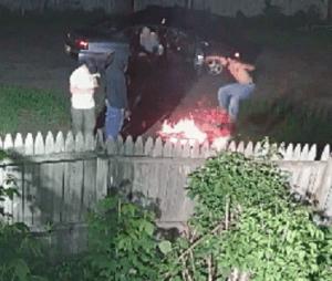 Herkimer gangbanger at illegal fire
