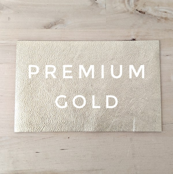 Premium Leather Choice - Gold
