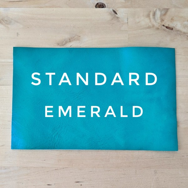 Standard Leather Choice - Emerald