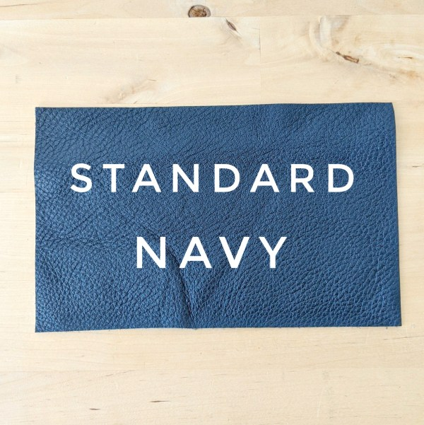 Standard Leather Choice - Navy