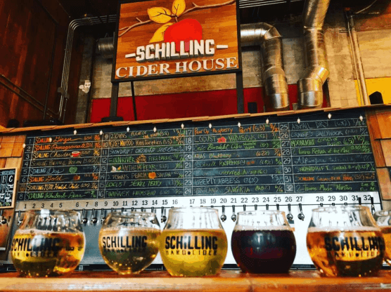 Schilling Cider House in Seattle Washington