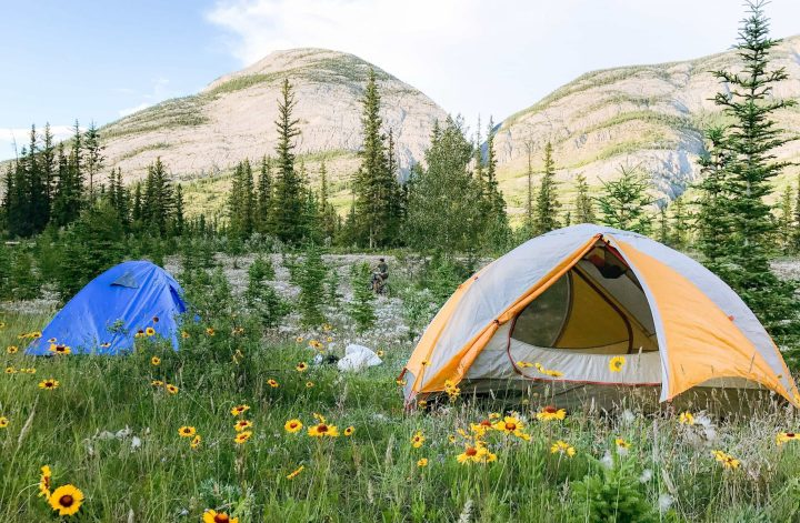 Learn what you should bring for Camping Essentials when staying in National Parks. What to pack for camping - These are important items for your camping checklist: Tent | Sleeping Bag | Sleeping Pad | Camping Pillow | Headlamp| + all other gear essentials for what to bring camping for beginners.