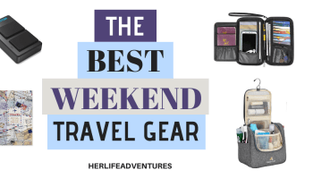 This ultimate weekend packing guide will help you know what to pack for your next getaway!