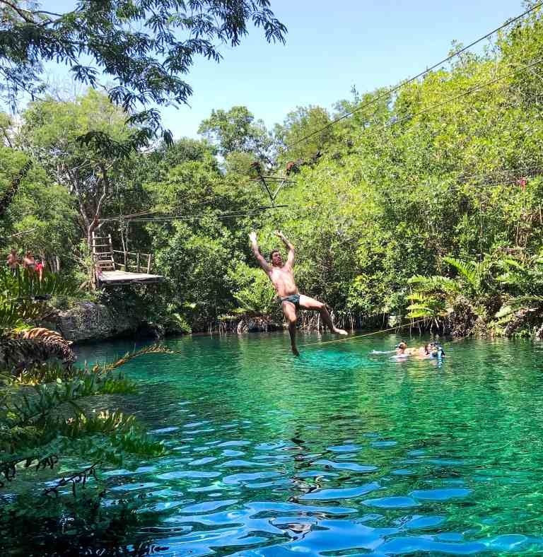 Must see cenote in Tulum. Scuba diving, snorkeling, kayaking and more! Quintana Roo Mexico | herlifeadventures.blog | #mexico #mexicotravel #mexicopacking #wheretostay #hiddengem #mexicovacation #travelhacks #travelguide #adventuretravel #traveltips #northamerica #traveldestinations #travelexperience #bestbeach #cenote #beautifulplaces #adventure #explore