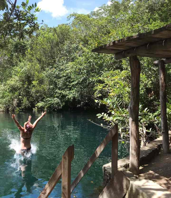 Mexico Car Wash Cenote