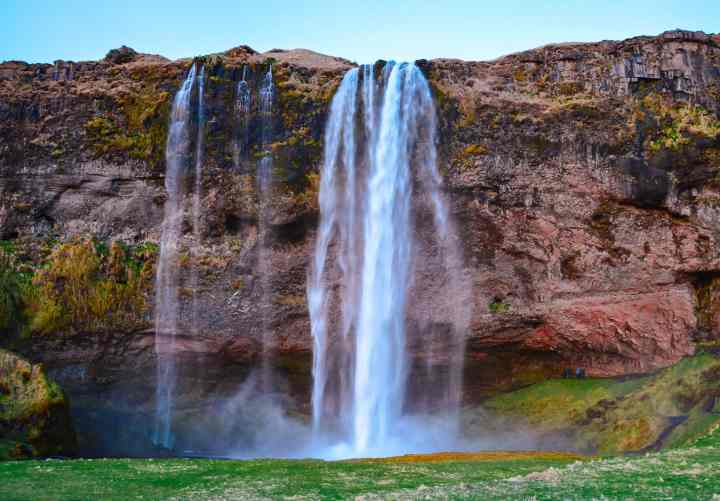 Seljalandsfoss, and more must see waterfalls on your Iceland road trip around the ring road.  Hidden gems, cascading waterfalls and some of the most beautiful landscape I've ever seen.   herlifeadventures.blog   #icelandtravel #hiddengem #icelandvacation #travelhacks #travelguide #adventuretravel #traveltips #europe #traveldestinations #travelexperience #waterfalls #iceland #beautifulplaces #adventure #explore