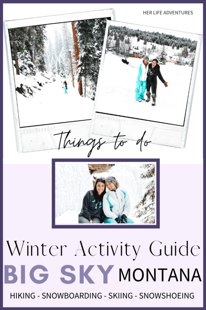 Things to do in Big Sky during Winter