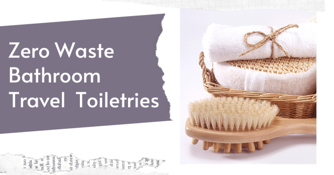 The best zero waste bathroom products to help you live a more #sustainable #lifestyle #zerowaste #bathroom #toiletries #deodorant #shampoo #conditioner #toothpaste #shower