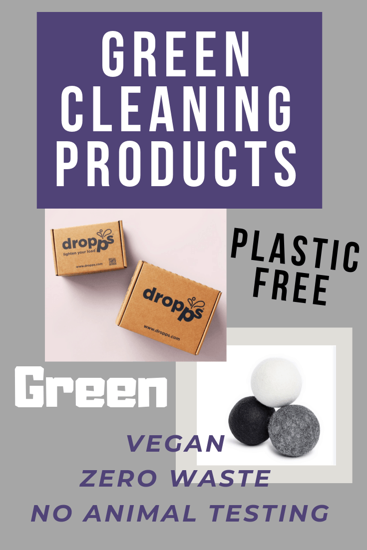 Dropps are non toxic, vegan, green, zero waste cleaning products. Dropps are delivered to your door and made by a company whose primary goal is to reduce single use plastic cleaning products. Find out why I love them! | Her Life Adventures | #green #vegan #zerowaste #sustainable #cleaning #products #nontoxic #plasticfree #laundry #kitchen