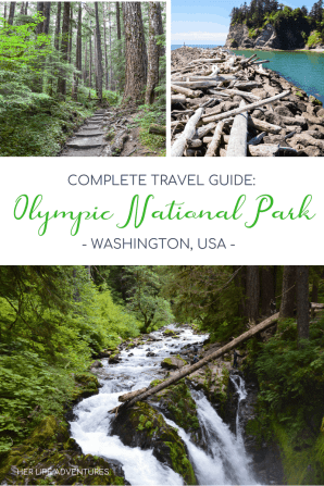 Complete Travel Guide to Olympic National Park in Washington, USA | HerLifeAdventures.Blog #olympic #nationalpark #washington #seattle #thingstodo #wheretogo